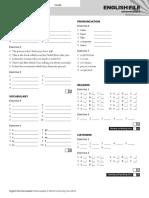 EF3e Int Filetest 010a Answer Sheet