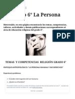Educación Religiosa Grado 6° La Persona – elprofedereli.pdf