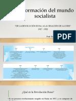 La Formación Del Mundo Socialista