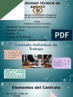 Clasificacion de Los Contratos