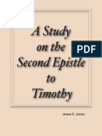 A Study on the Second Epistle to Timothy by Jesse C. Jones