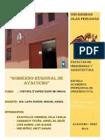 Gobierno Regional de Ayacucho 1