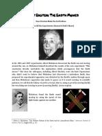 Albert Einstein the Earth Mover