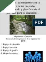 Gerencia de Proyectos Organización y Planifi