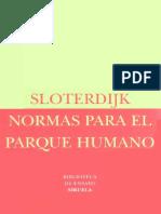 Sloterdijk Peter - Normas para el parque urbano.pdf