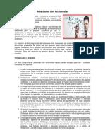 Relaciones Con Accionistas Inversionistas Los Contratos y Clasificaciones Malacateco Trabajo