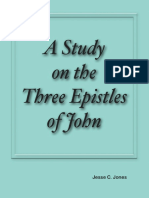 A Study on the Three Epistles of John by Jesse C. Jones
