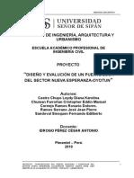 MEMORIA-DESCRIPTIVA-PUENTE LOSA DEL SECTOR NUEVA ESPERANZA-OYOTUN (L=11m)