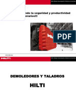 Capacitación en El Uso de Taladros y Demoledores_HILTI