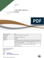 Chemical Pathology Curriculum