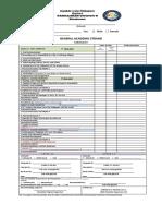 Shs Checklist Humss