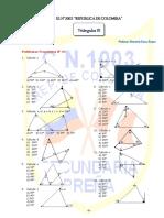 Problemas Propuestos de Situaciones Geometricas de Triangulos Ccesa007