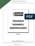 Mtto Preventivo KENWORTH