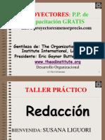 Proyectores Capacitacion Susana Liguori