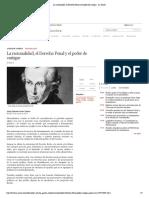 La racionalidad, el Derecho Penal y el poder de castigar - La Razón