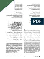 indicadores sostenibles pYMes