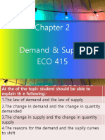 2.Theory of Demand and Supply