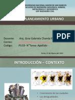 EAP IC curso ´Planeamiento Urbano Gina Chambi 2019 -I