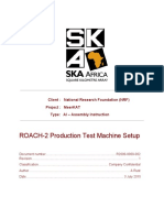 ROACHII Production Test Machine Setup