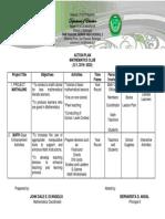 Action Plan_Math Club_SY 2019-2020
