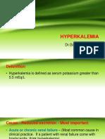 Hyperkalemia by Dr Gireesh Kumar K P