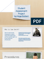 student assessment project