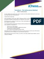 Summary - Sethuraman Method