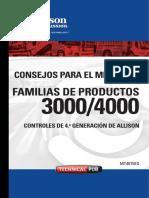 Manual Allison Serie 3000 y 4000