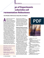 DOE E.coli Fermentation