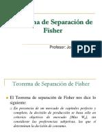 02 Teorema de Separación de Fisher