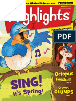 Highlights for Children March 2017