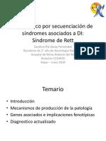 Diagnostico Por Secuenciación de Síndromes Asociados a DI