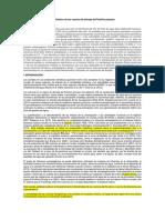Disparidad de Cambio Hidroclimático de Las Cuencas de Drenaje Del Pacífico Peruano