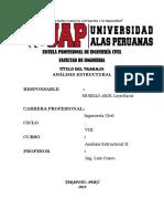 Analisis Estructural II