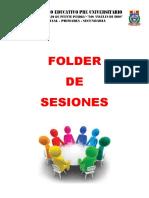 Folder de Sesiones