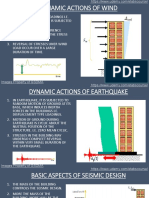 Structure Behavior of High Rise Buildings Under Dynamic Forces and Other Concepts