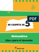 Mi Carpeta de Matematica 5-Docente-print
