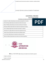 SCIENTIFIC INFORMATION AND TECHNOLOGICAL BOARD OF SADHANA - UNIVERSAL REVIEW.pdf