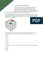 3x3 Instructions