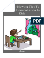 Tips Increase Concentration