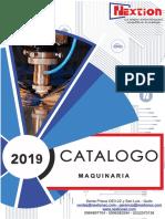 catalaogo 2019 maquinari