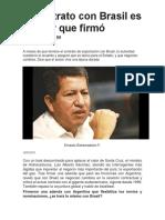El Contrato Con Brasil Es El Peor Que Firmó Bolivia