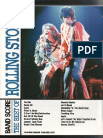 The Rolling Stones - The Best of (Full Band Score-jap)