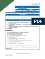 JD - Petroleum Data Analyst