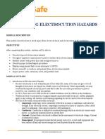 Avoiding Electrocution Hazards