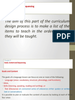 curriculum dev