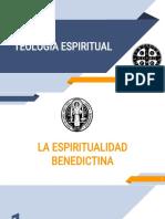 TEOLOGIA ESPIRITUALIDAD BENEDICTINA