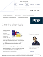 Alfa Laval - Cleaning Chemicals