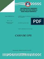 CASO DE UPS
