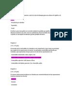 Evaluacion Parcial I Comercio Internacional